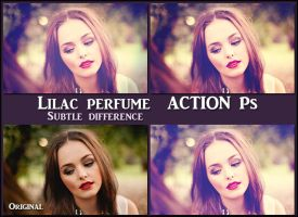 Lilac perfume ACTIONS Ps by Tetelle-passion