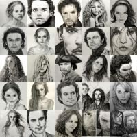 Pencil Drawings: The First Half of 2014 by SHParsons