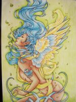 Angel Coloring Pencil by sachiko2189