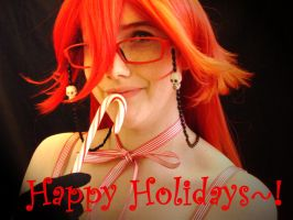 Grell's Peppermint Wishes by pervyyaoifancier
