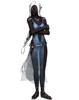 drow lady8 - stock by Umrae-Thara