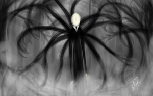 Slenderman by RaiDoodles