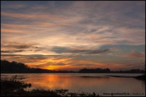 Sunset on Loire Valley by Rossifumi46