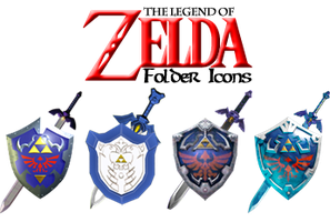 The Legend of Zelda Icons by wild-rumpus126
