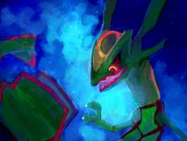 Rayquaza by bananei