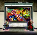 Electric Strings - Subway by JadePixi