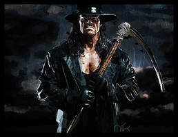 The Undertaker by nicollearl
