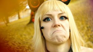 Grumpy Vocaloid by enjoithis