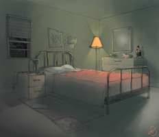 Craig's bedroom by Taru-Sama