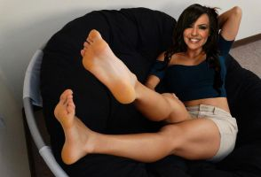 WWE Layla Feet by WrestlingFeet