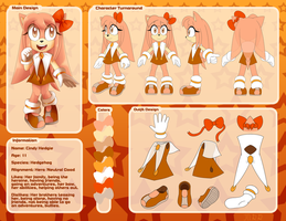 Cindy Hedgie 2016 Main Reference by HeroineMarielys