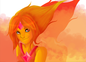 Flame Princess by RoCkStarFreak