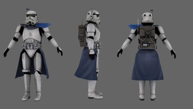 Imperial Arc Trooper Basic by JakeGreen163