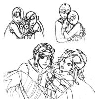 9 sketch dump by Lily-pily