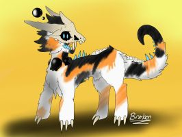 DTA: Calico Zomechor adopt WINNER ANNOUNCED! by Brokenwingsoflight