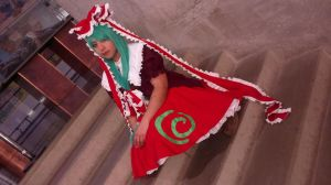 touhou project:  hina in Anime deluxe 2013 by sumomin
