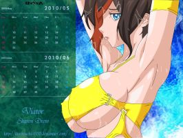 Viator Calendar May 2010 by kurotsuchi-666
