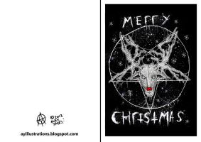 christmas card 2012 by ayillustrations