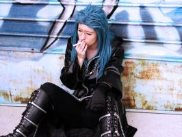 Saix - Blue smoke by PyRoAj