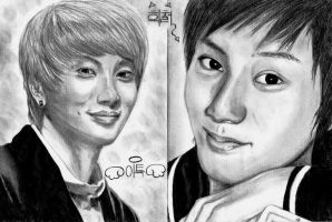 Leeteuk and Heechul by LiLaYpSi