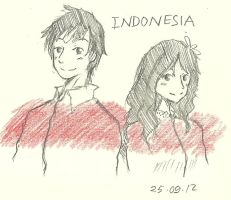 Indonesia Twins by Roello-G