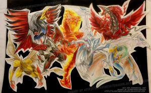 The Six Signer Dragons by slifertheskydragon