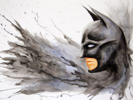 Batman Splash by AllieRaines