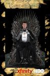 Stannis sits the Iron Throne by XizerTheGrey