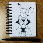 #5 Inktober - Pokemon by LLavvliet
