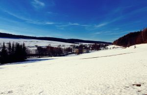 winter spring landscape by KristinMoore