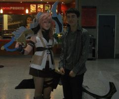 Me and Lightning FF-XIII by Ligrano