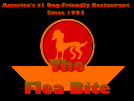 The Flea Bite Cafe Logo by Charleston-and-Itchy