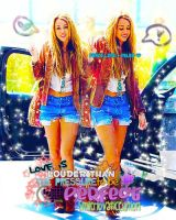 Miley Cyrus BLEND 2 by SMILERLOVATICedition