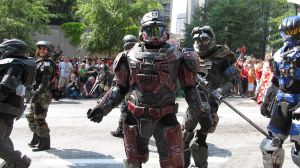 dragon con 2012 parade halo by TIMECON