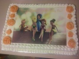 Disney Fairies Cake - Happy Birthday, Tea! by missblissbakery