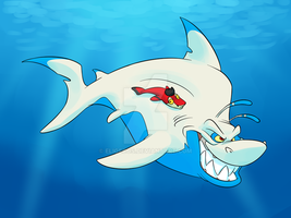 Shark Week Keel by Eligecos