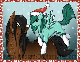 Day 28: Happy Holidays! by Kuro-Creations