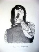 Ronnie Radke. by IWalkWithShadows