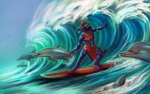 The Wave by Maquenda