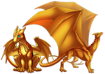 Pern Dragon Bases by IntroducingEmy