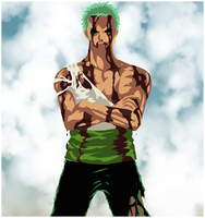 Sacrifice, Zoro Vector by AnnaHiwatari