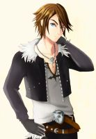 Squall Leonhart by Artificial-Silent