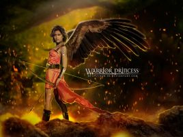 Warrior Princess by Xan-04