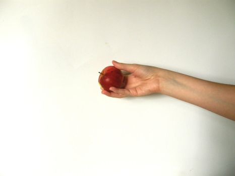 Hand with Poison Apple Stock11 by NoxieStock