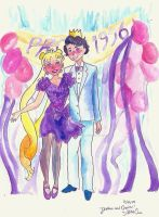 Serena and Darien at Prom by browneyedanachronism