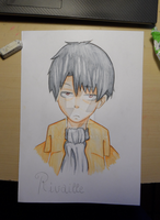 Rivaille by Gilouw