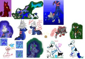 Iscribble Dump 1 by puddathere