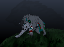 Request: ByrdxWolf by EmberWolfsArt