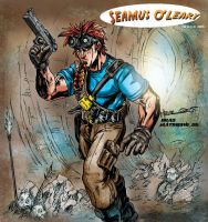 Seamus by  Alex Milne colored. by BradMatthews
