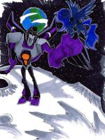 When a Robot Loves A Pony by neoyi